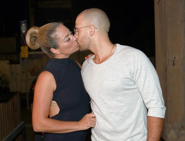יחד כל הדרך. גרינר ובעלה יוסי צבר (צילום: ענת מוסברג)