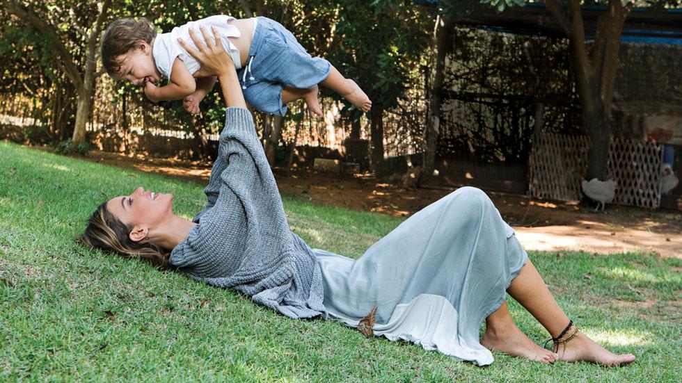 """נטלי דדון: """"חשבתי שאני אהיה אמא יותר זורמת, ואני מגלה שלא"""""""