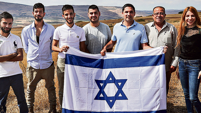 The delegation members' views are not the views of a small and detached minority. Polls show 51 percent of Arabs are proud to be Israeli   (Photo: Gil Nachshoni)