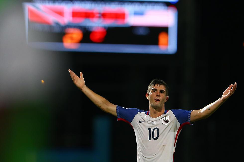 כריסטיאן פוליסיץ'. עומד להיות כוכב על, אבל לא יהיה במונדיאל ברוסיה (צילום: AFP) (צילום: AFP)