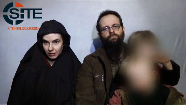 Joshua Boyle and his family were held in captivity for five years (Photo: AFP / SITE Intelligence Group)