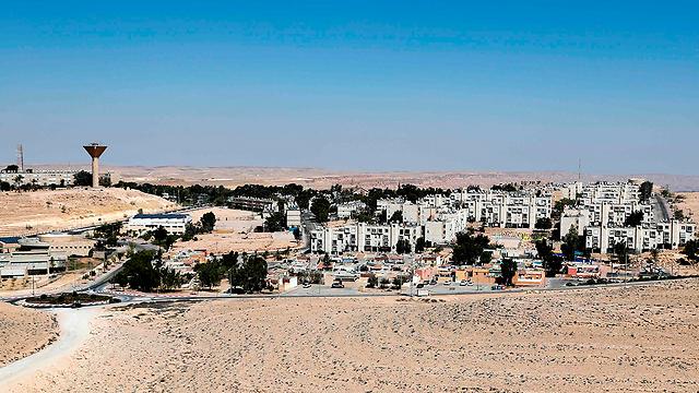 מועצה מקומית מצפה רמון (צילום: AFP)