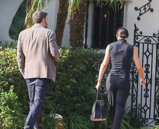 בדרך לפגישה בלוס אנג'לס (Splashnews)