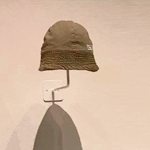Israel's iconic tembel hat will be displayed at a MOMA exhibit (Photo: Consul General Dani Dayan)