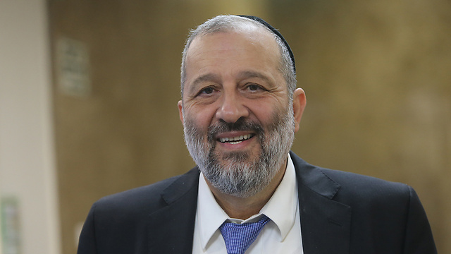 Interior Minister Deri's committee decided to create a new Samaria city (Photo: Alex Kolomoiski)