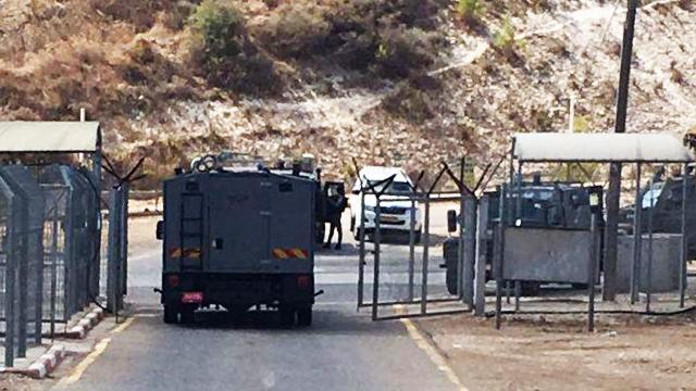 Scene of arrest (Photo: Israel Police Spokesperson's Unit)