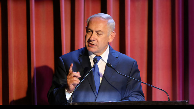 PM Netanyahu said a parliamentary group to investigate NGOs operating against IDF soldiers will be formed (Photo: Amit Shabi)
