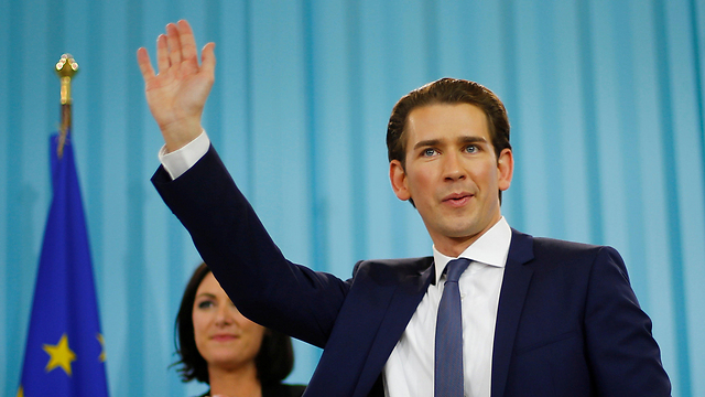 PM Netanyahu spoke with new Chancellor Kurz after his election win (Photo: Reuters)