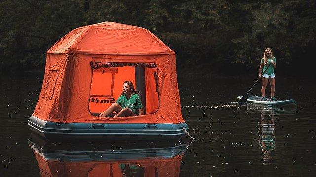 האוהל הצף (צילום: מתוך אתר חברת SmithFly) (צילום: מתוך אתר חברת SmithFly)