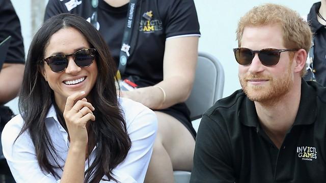ממסדים את הקשר. הנסיך הארי וחברתו מייגן מרקל (Gettyimages) (Gettyimages)