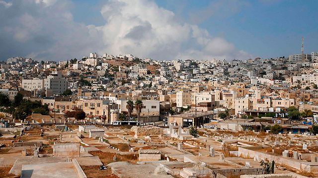 Avraham Avinu settlement in Hebron (Photo: AFP)
