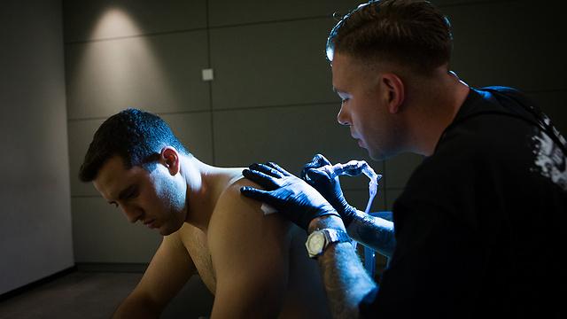 Ben Morag. 'I'm focused on my rehabilitation process'  (Photo: Alex Kolomoisky)