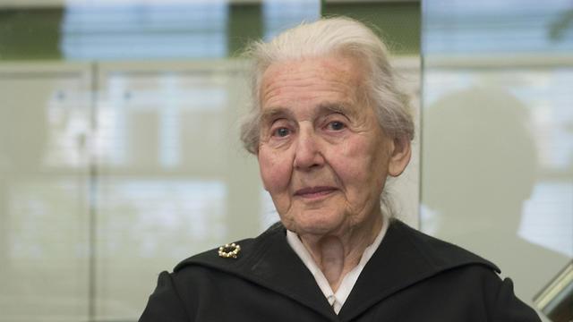 Ursula Haverbeck (Photo: AP)