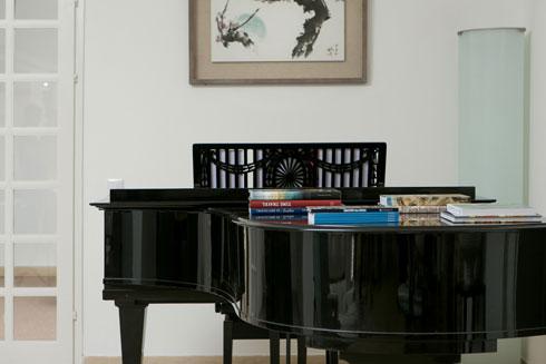 מוזיקה היא חלק בלתי נפרד מחיי המשפחה (צילום: שירן כרמל)