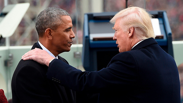 Presidents Obama (L) and Trump during the latter's inauguration (Photo: AFP)