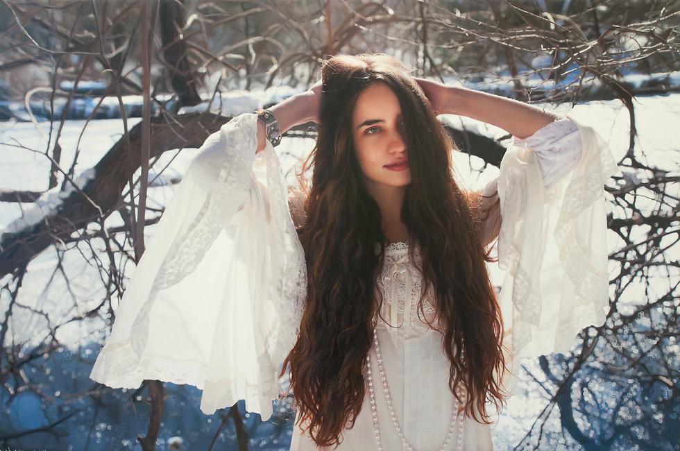 ליזי ג'אגר, בתו של מיק ג'אגר (צילום: יגאל עוזרי)