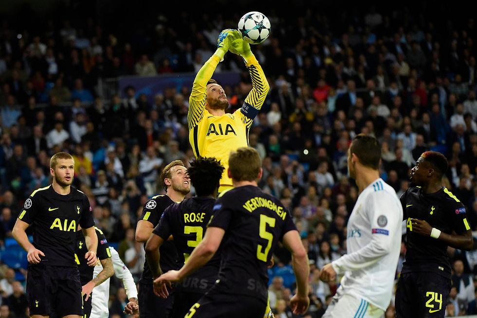 טוטנהאם סיימה לפני ריאל מדריד בשלב הבתים (צילום: AFP)