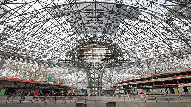 בניית נמל התעופה החדש של בייג'ינג, דאשינג (צילום: רויטרס) (צילום: רויטרס)