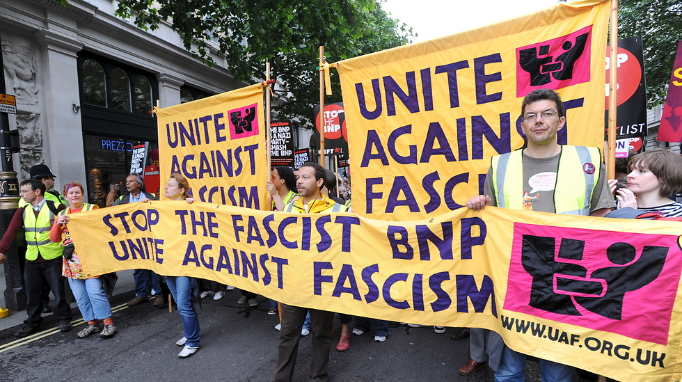 Anti-National Front demonstrations (Photo: EPA)