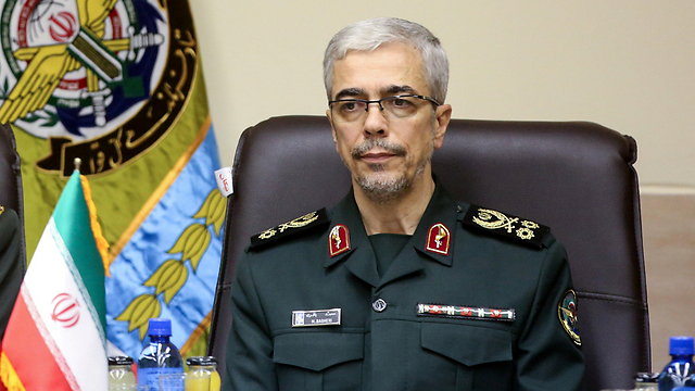 The Iranian military's chief of staff, General Mohammad Baqeri, who visited Syria (Photo: Reuters)