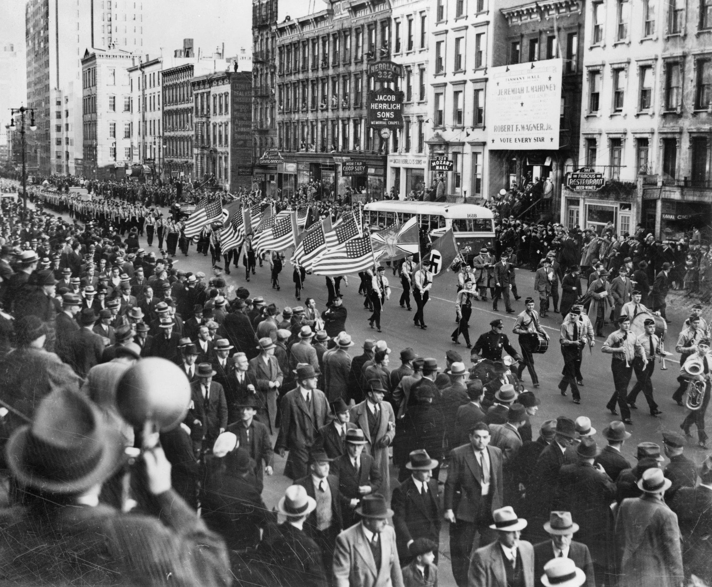 צעדת הנאצים בניו יורק