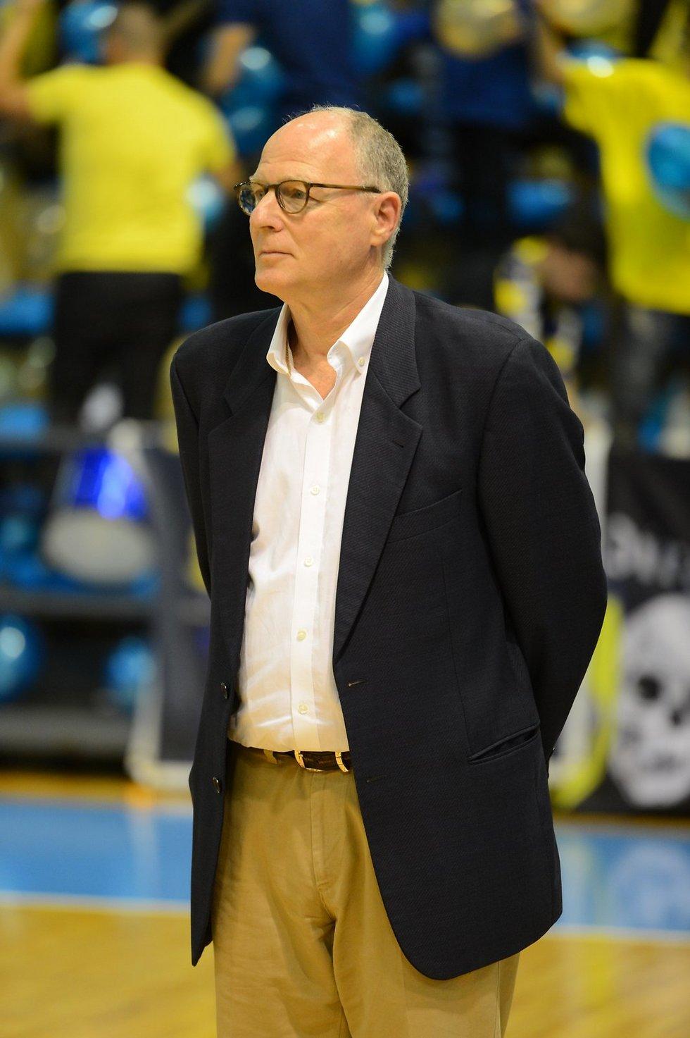 כנראה מאמן העונה. בראד גרינברג  (צילום: אבי רוקח)