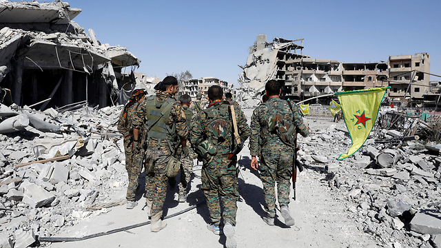 Raqqa in ruins after campaign to release it from ISIS (Photo: Reuters)
