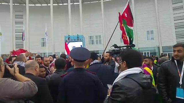 Пропалестинская демонстрация в России