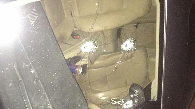 ירי לעבר רכב בנצרת  ()