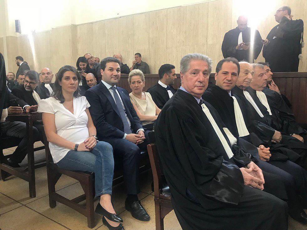 לפני מתן גזר הדין בבית המשפט בביירות ()