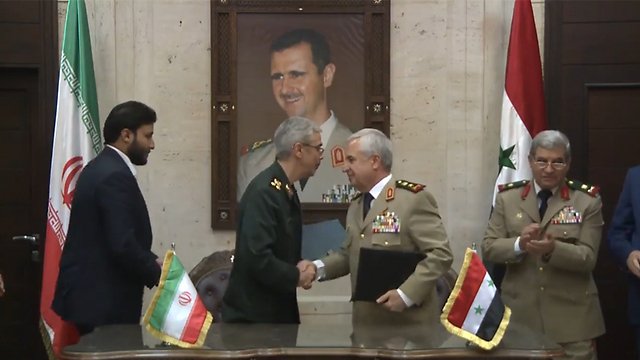 The Iranian military's chief of staff in Syria