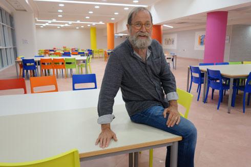 האדריכל האחראי, רנדי אפשטיין (צילום: מיכאל יעקובסון)