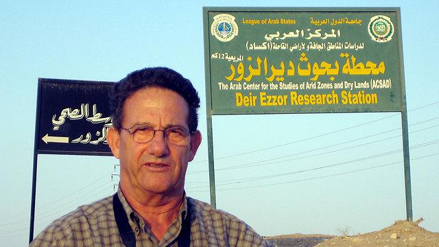 """""""נחישות להמשיך בדרך הלא פשוטה"""". בן ישי בסוריה ()"""