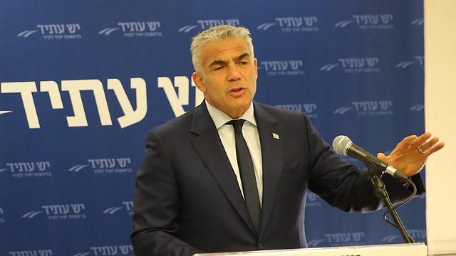 Yair Lapid (Photo: Motti Kimchi)