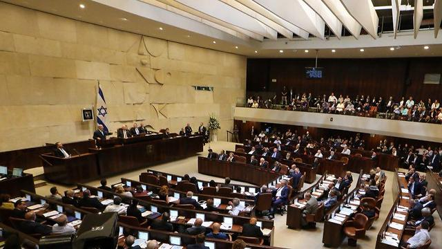 The Knesset passed a Jerusalem and a primary campaign financing law Monday night (Photo: Motti Kimchi)