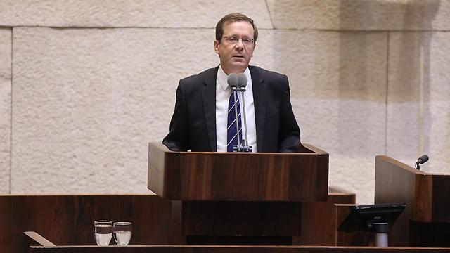 Opposition leader Isaac Herzog (Photo: Yitzhak Harari/Knesset PR)
