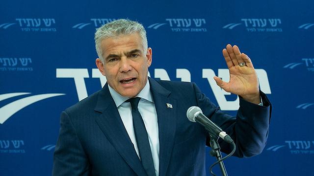Yesh Atid leader Yair Lapid (Photo: Ohad Zwigenberg)