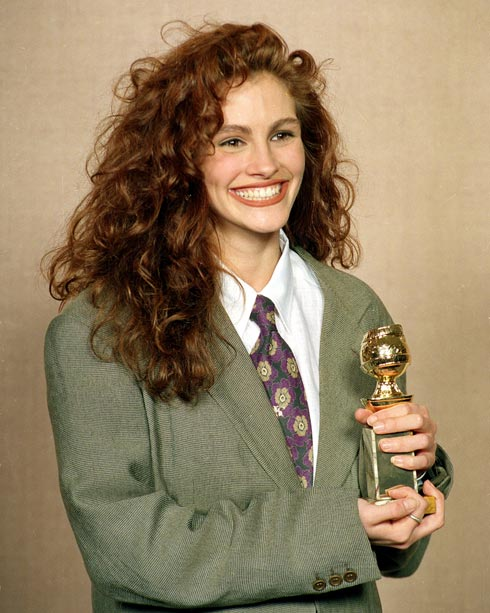 הפכה משחקנית מוכרת לכוכבת הוליוודית. 1990 (צילום: AP)