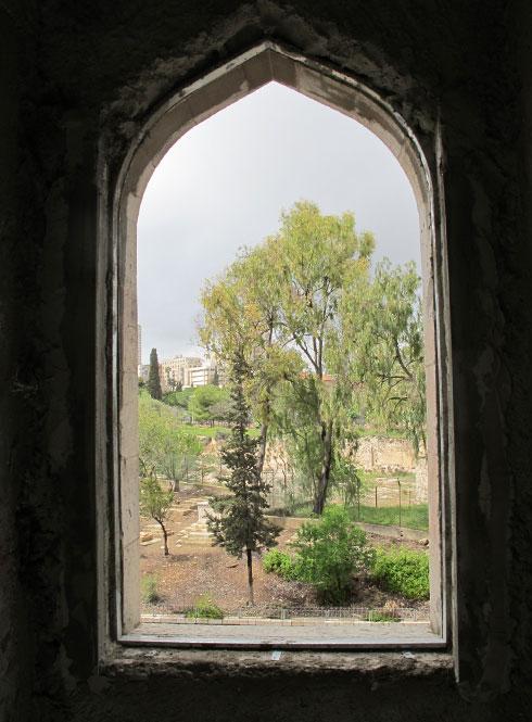 ירושלים של פעם. בית הקברות ממילא (צילום: מיכאל יעקובסון)