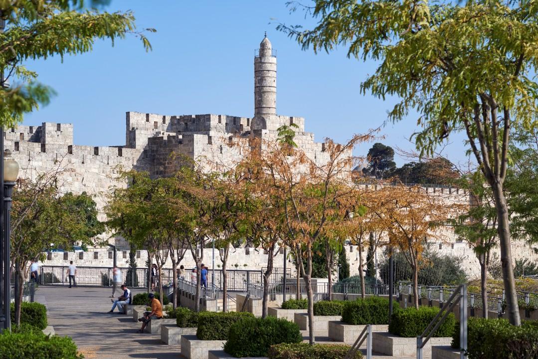 נוף לחומות העיר (צילום: יעל הרמן) ()