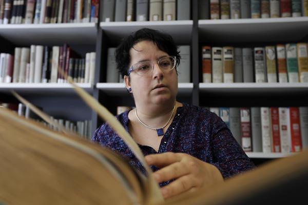 Doris Schott-Neuse, the letter's author (Photo: AP)