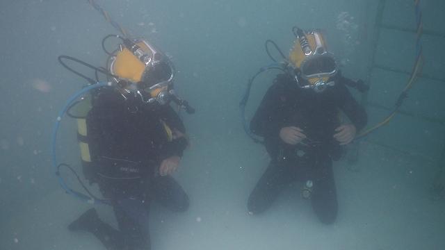 Underwater, prepared for any scenario  (Photo: IDF Spokesperson's Unit)