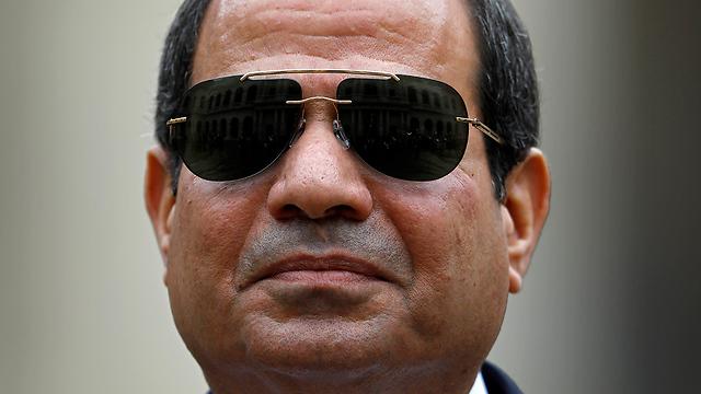 נשיא מצרים א-סיסי (צילום: EPA) (צילום: EPA)