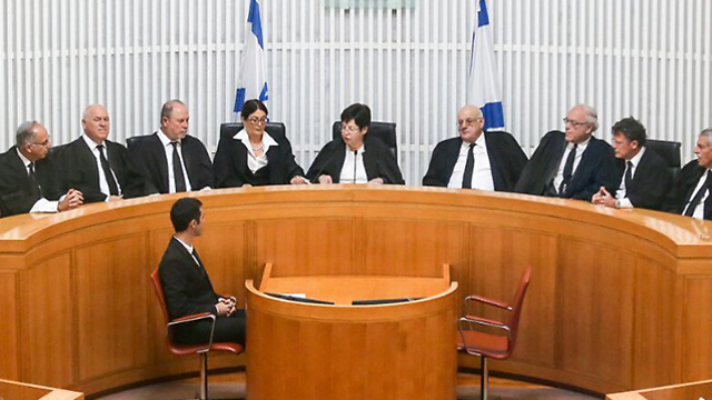 We can dissolve the Knesset and put the judges in charge. After all, they have already annexed the authority to grant citizenship to Hamas supporters in Jerusalem, to issue orders on the supply of electricity to Gaza, etc. (Photo: Noam Moskovich)