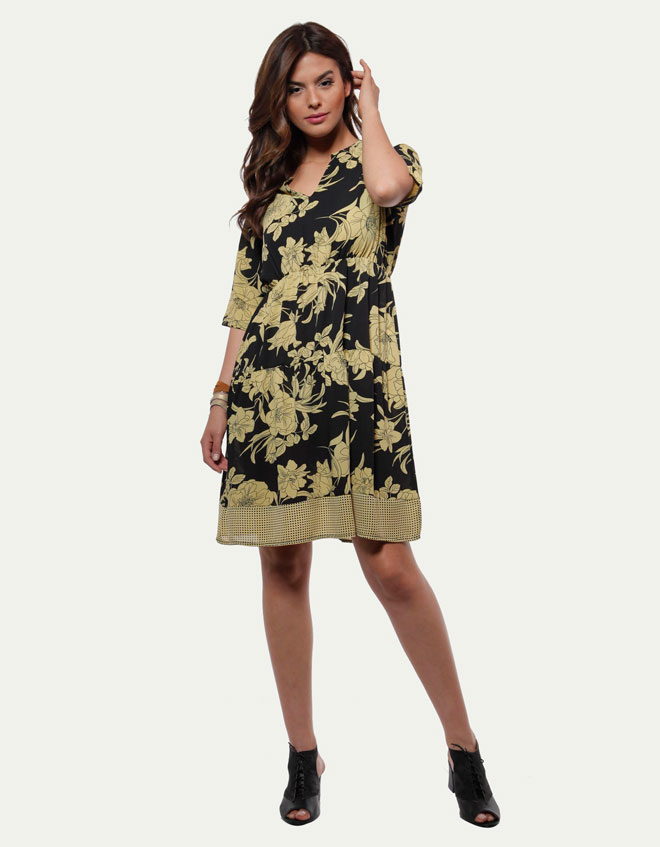 שמלה רומנטית בגזרת אוברסייז, 149 שקל, אורלי גולן, שופינג לאשה (צילום: שופינג לאשה)