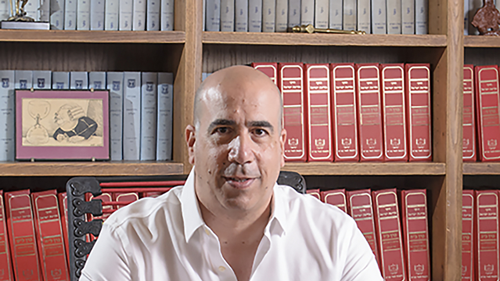 The plaintiff's attorney Oren Gross insisted the use of the term was justified (Photo: David Sasson)