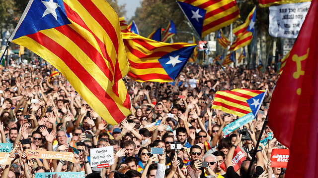 Pro-independence support rally (Photo: Reuters)