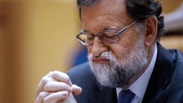 ראש ממשלת ספרד מריאנו ראחוי (צילום: AFP) (צילום: AFP)