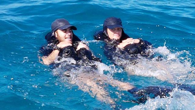 Sergeant Sara Anog and Sergeant Noam Zinger  (Photo: Yoav Zitun)