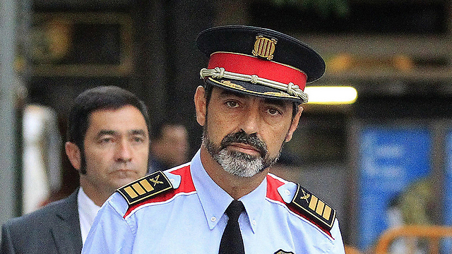 Catalan Chief of Police Trapero was also removed (Photo: EPA)